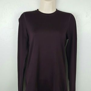 Patagonia women top long sleeve polyester blend